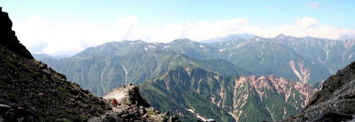 "Cume ""Daikiretto"", Alpes Japoneses, 2007."